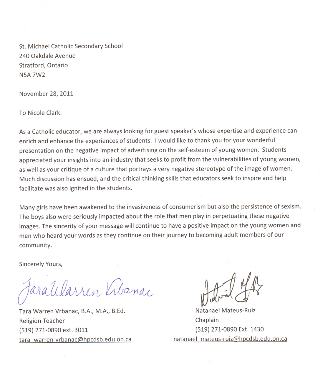 Letter Of Recommendation Thank You Image Collections  Letter Format